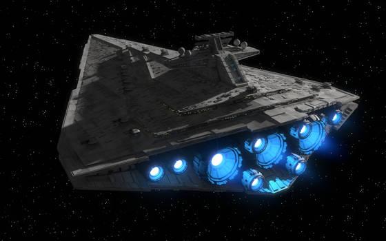 Unfinished nameless Star Destroyer
