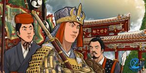 Royal warrior of Ryukyu