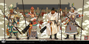 Guards of the Tang Dynasty