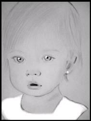 Pencil Portrait Baby