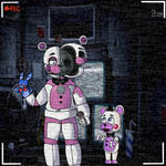 Funtime Freddy and Helpy