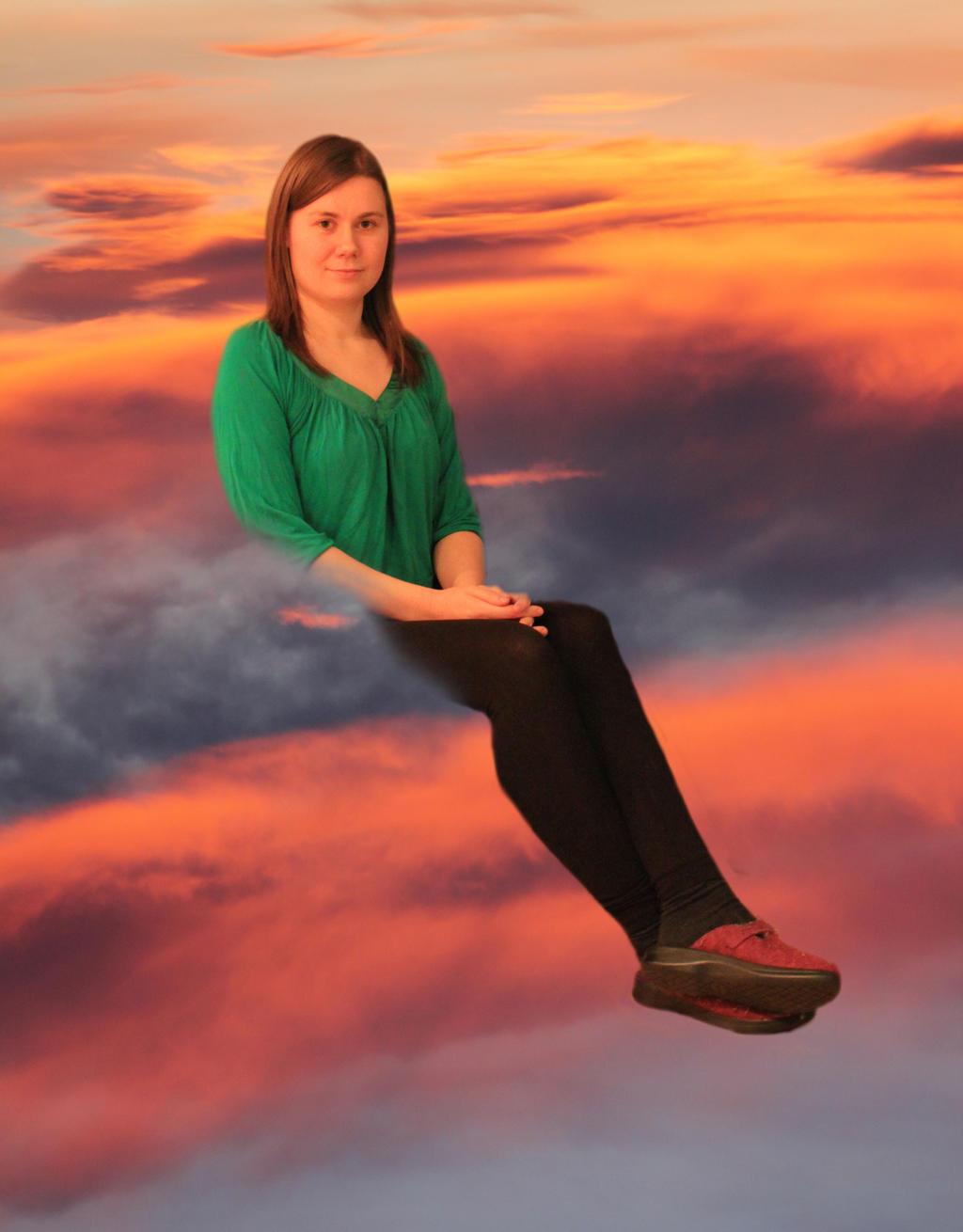 Polarliger, artista de DeviantART Like_sitting_on_clouds_by_polarliger-d5x9n2v