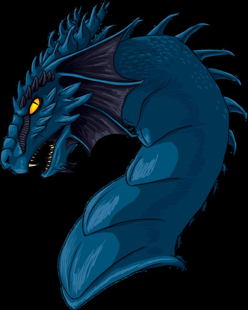 Polarliger, artista de DeviantART Blue_dragon_by_polarliger-d6c2duo