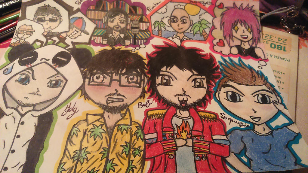 mes dessin et bidouillages d'images. :3  Youtubers_forever__by_littleowlgraph-d8hntxu