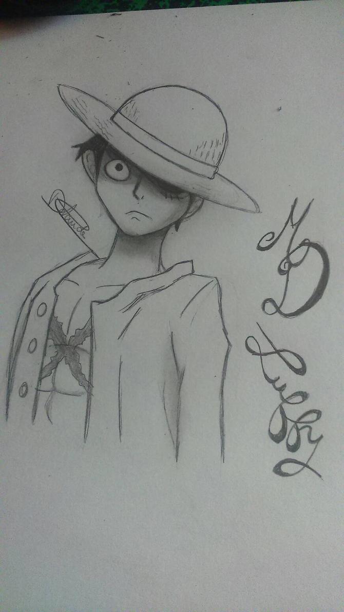 mes dessin et bidouillages d'images. :3  Monckey_d_luffy_by_littleowlgraph-d8kucez