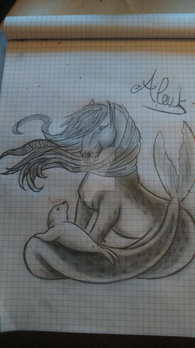 mes dessin et bidouillages d'images. :3  Aleut_by_littleowlgraph-d91mdni