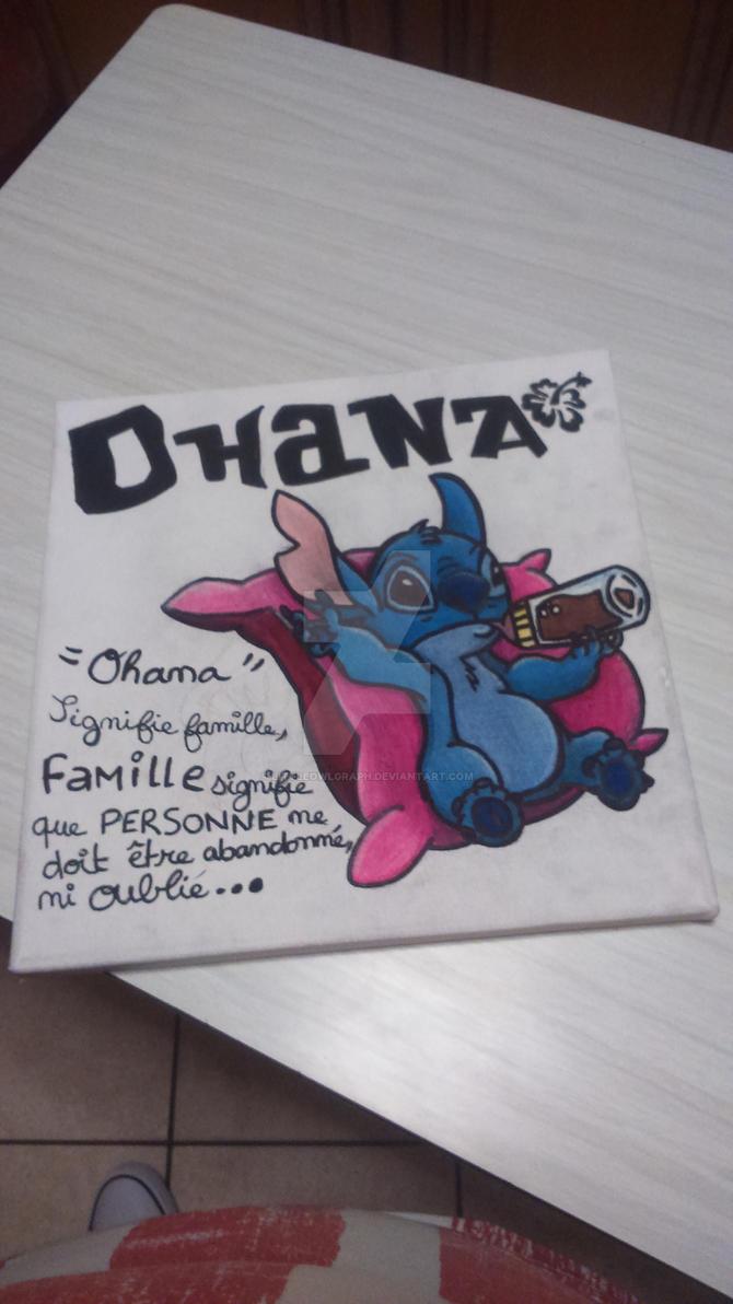 mes dessin et bidouillages d'images. :3  Ohana___stitch_by_littleowlgraph-d94h1k6