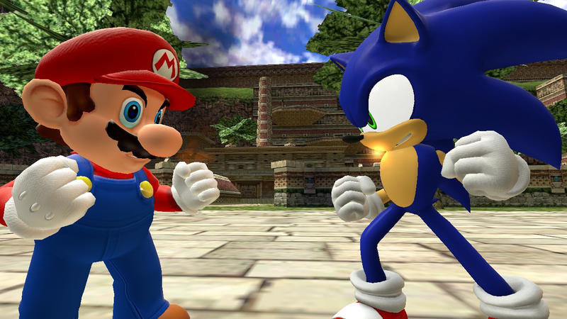 Mario Vs Sonic Death Battle Revisit By Shinxboy On Deviantart