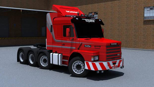 T143E heavy haulage