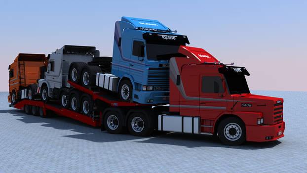 Estepe TTT fully loaded...so much Scania :P