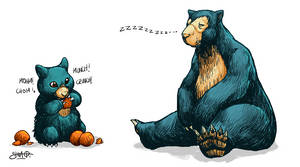 Munchlax and Snorlax