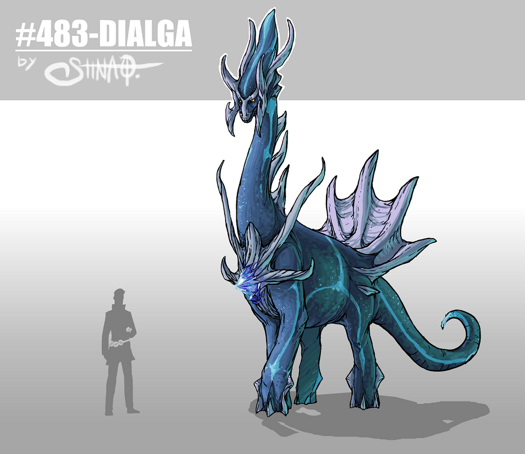 Dialga by Heri-Shinato