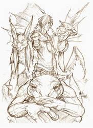 Pokemon trainer sketch