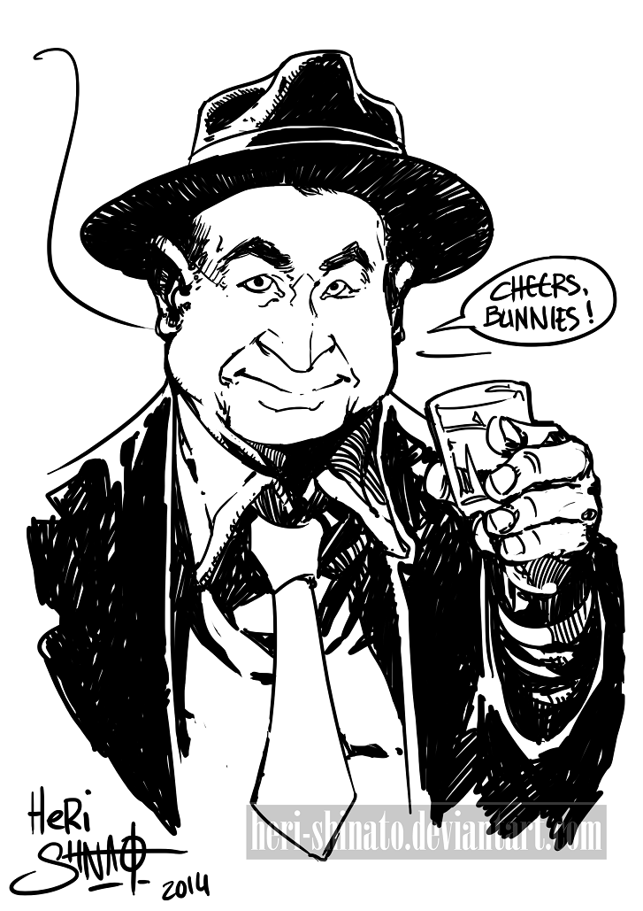 Bob Hoskins by Heri-Shinato