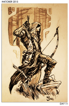 DAY 11 - Connor Kenway