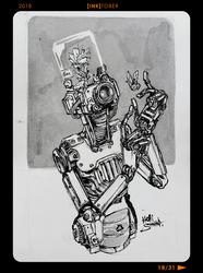 InkTober2018 - Day18 by Heri-Shinato