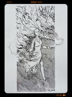 InkTober2018 - Day19 by Heri-Shinato