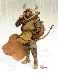 The huntsman (rough character demo) by Heri-Shinato