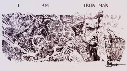 I AM IRON MAN by Heri-Shinato