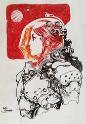 SPACE WANDERER by Heri-Shinato