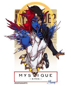 Mystique #sixfanarts