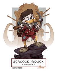 Scrooge McDuck #sixfanarts
