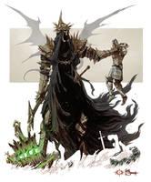 Le Fleau venu de Morgul -The Witch-king of Angmar