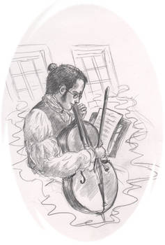 D-r Stephen Maturin and his cello