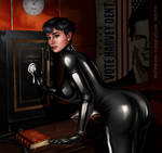 Catwoman sfw preview.