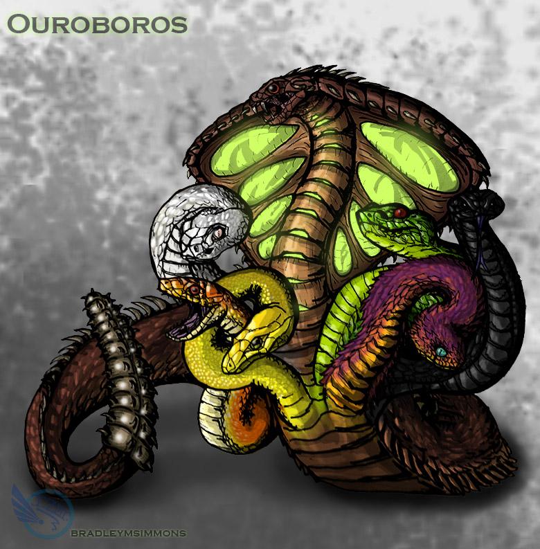 Ouroboros by IZORx10