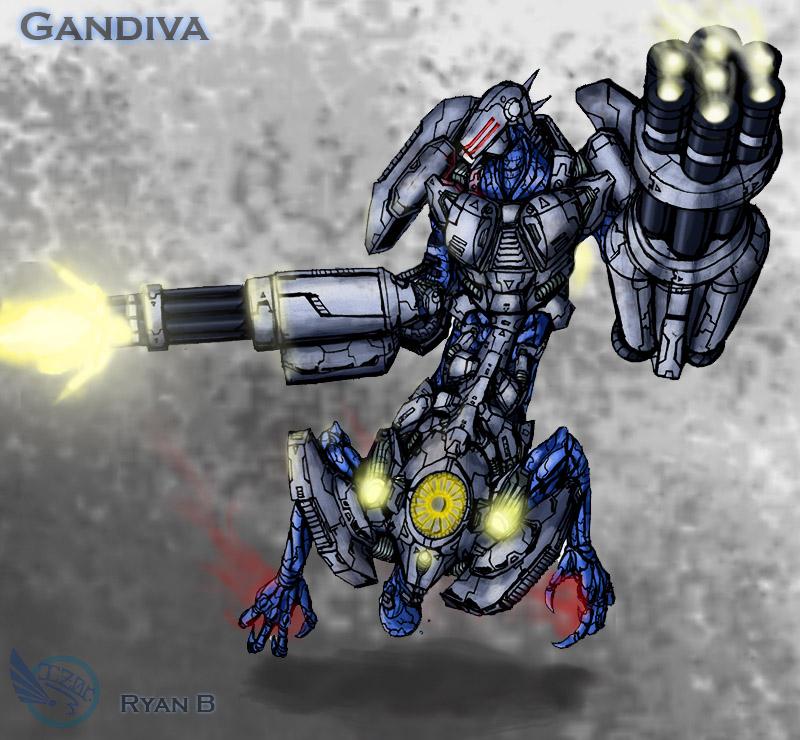 Gandiva's Armored Side by IZORx10