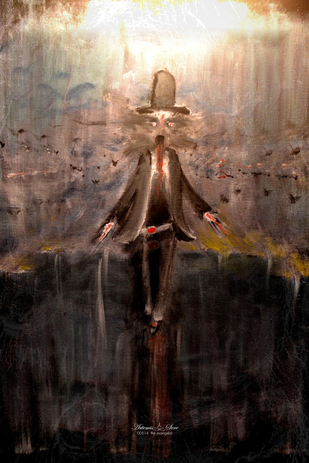 the evangelist by artemissere