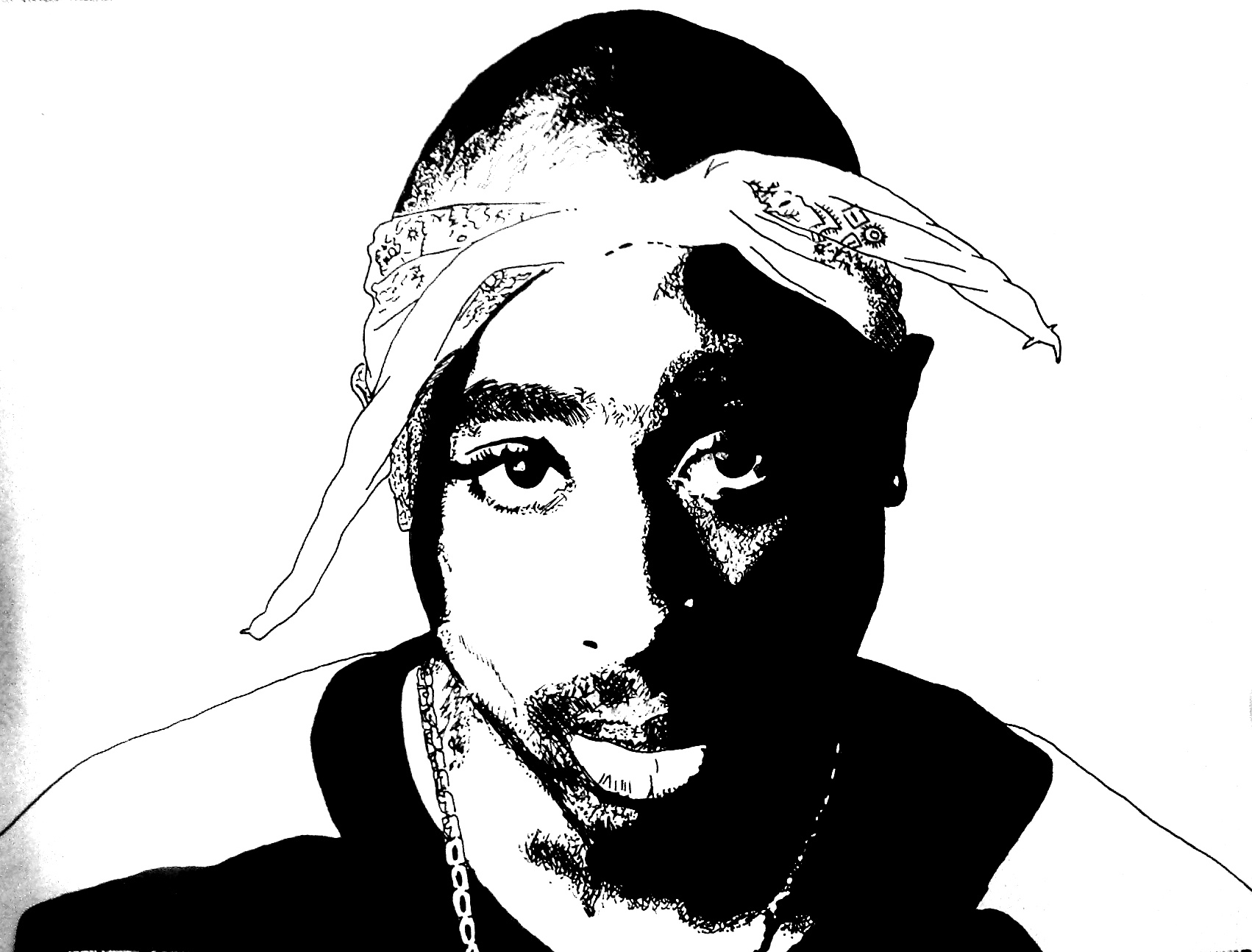 Tupac Artwork 19 by 00Makaveli00 on DeviantArt