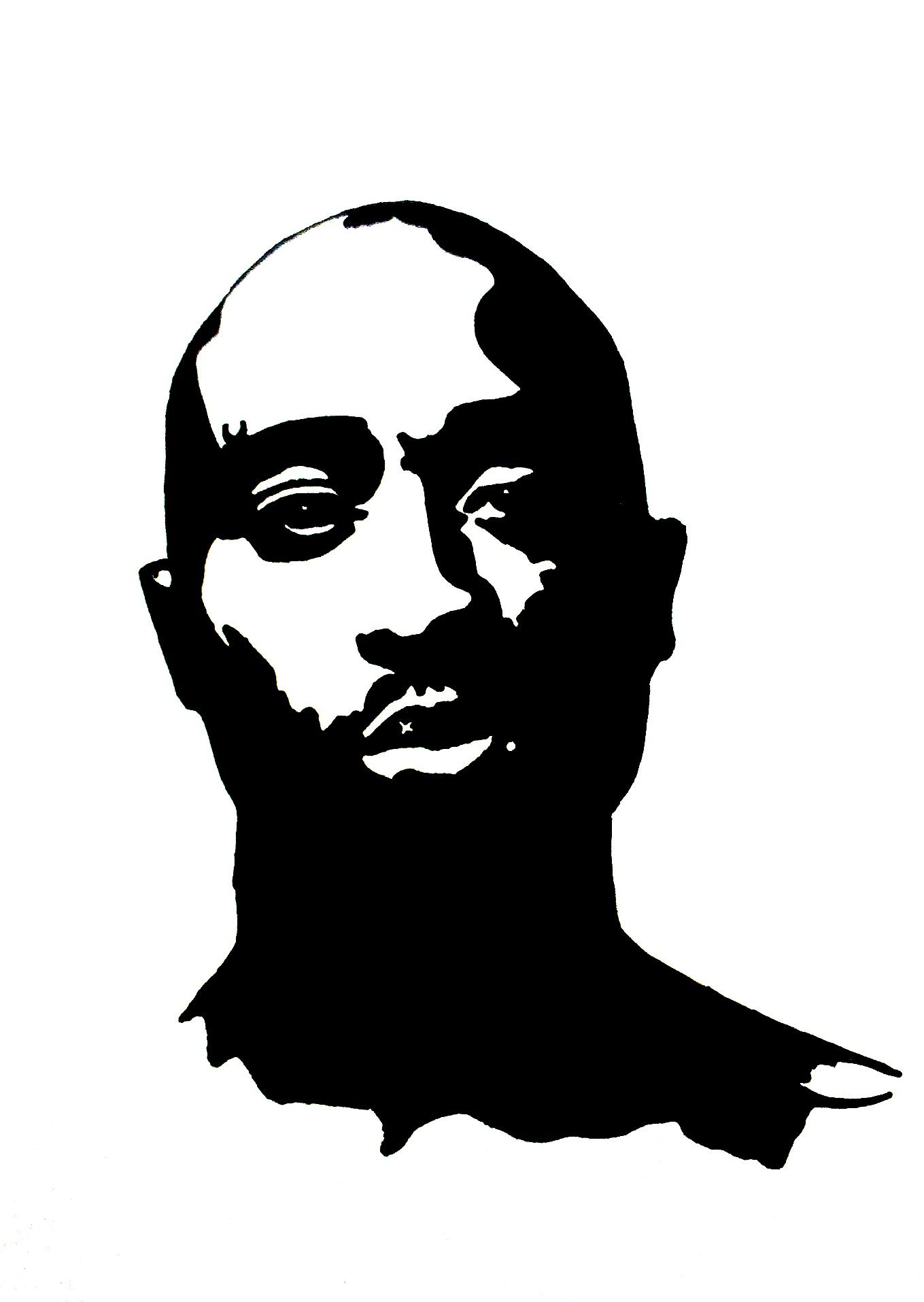 tupac artwork 9 by 00makaveli00 on deviantart