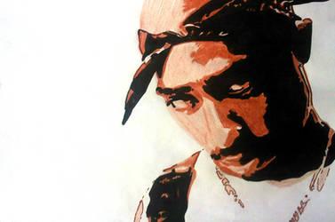 Tupac Artwork 10 by 00Makaveli00