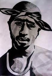 Tupac Artwork 14 by 00Makaveli00