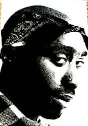 Tupac Artwork 35 by 00Makaveli00