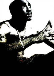 Tupac Artwork 38 by 00Makaveli00
