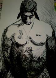 Tupac Artwork 42 by 00Makaveli00