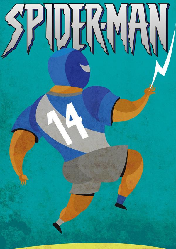 Otilino spiderman by MasBrain