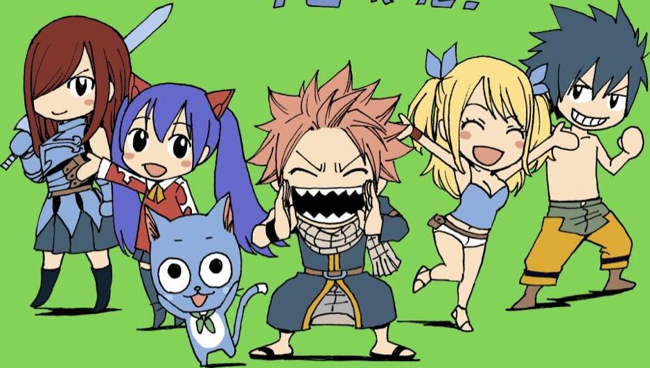 Fairy Tail Chibis 2 - Render by Shutsujin on DeviantArt