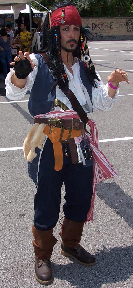 Best Jack Sparrow Cosplay by RirinShin