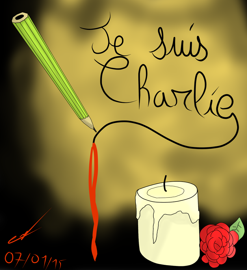 Je Suis Charlie by Rachel-Gold-Eyes