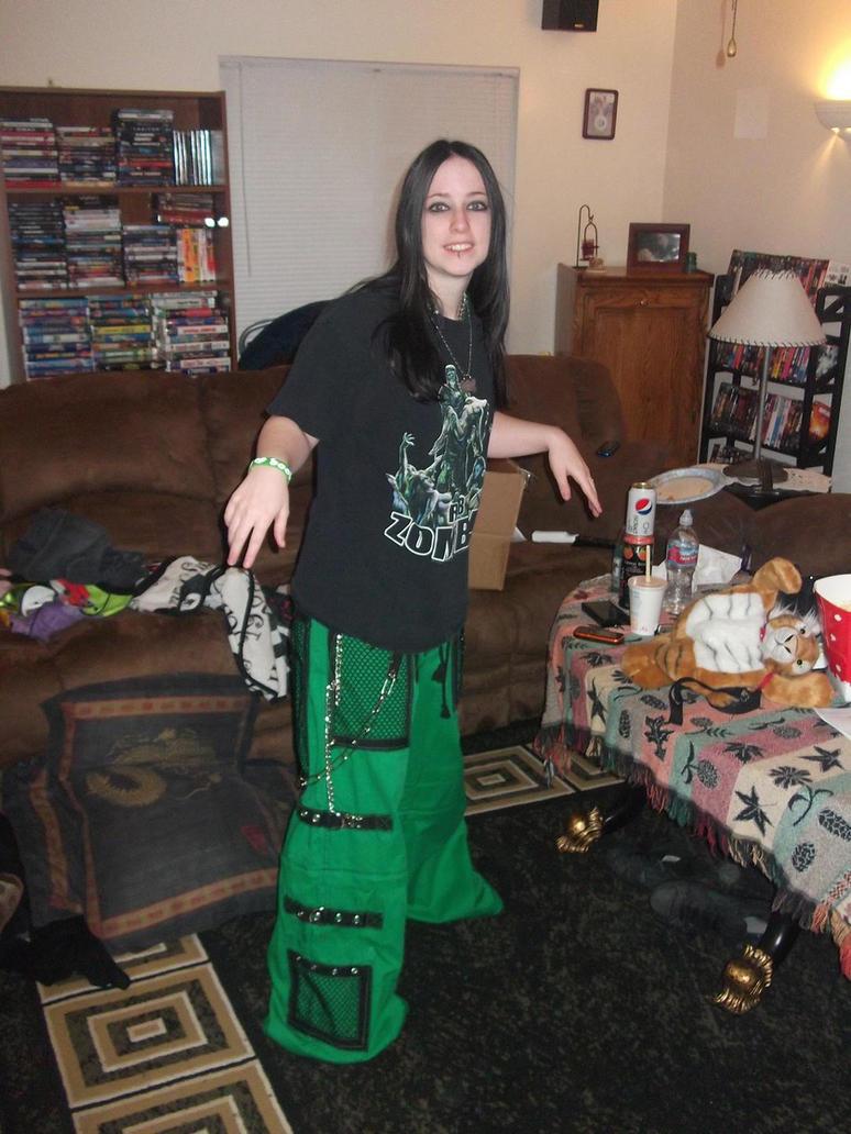 My new green tripp pants by xxbloodyxxxjackalxx on deviantart for Trap eisen