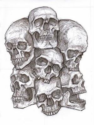 pile of skulls by arimond on deviantart. Black Bedroom Furniture Sets. Home Design Ideas