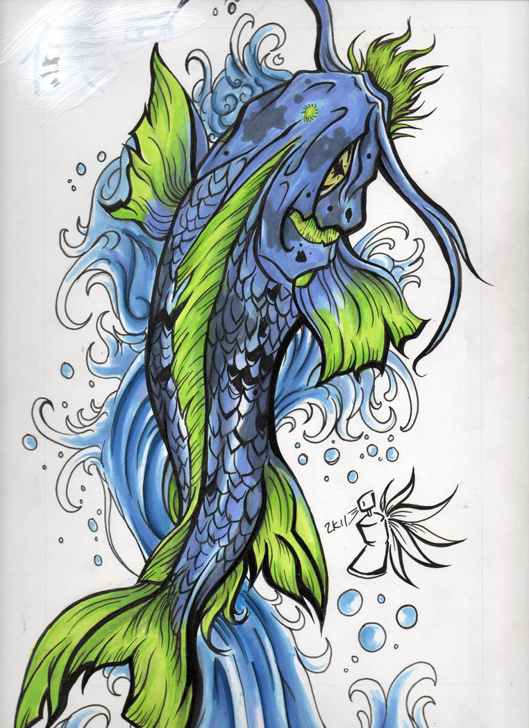 Koi fish tattoos on pinterest koi koi fish tattoo and for Coy poisson