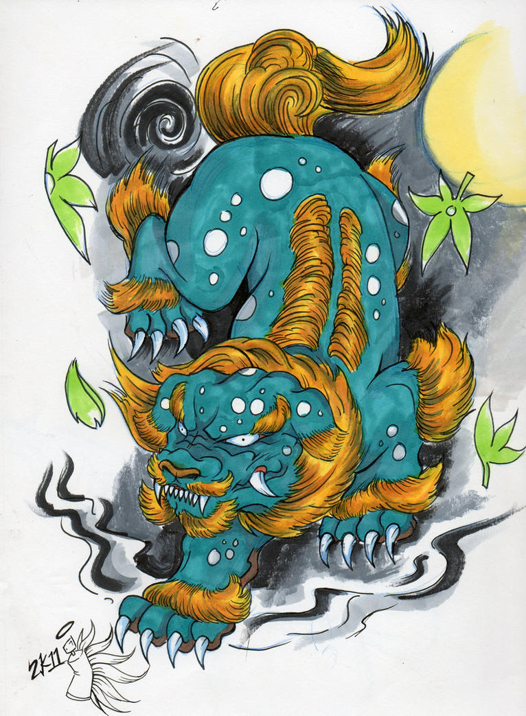 foo dog by jamed913 on deviantart