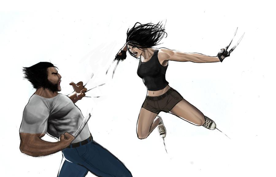 http://fc01.deviantart.net/fs71/i/2010/211/a/0/Wolverine_vs__X_23_by_KangJason.jpg