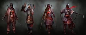 Assassin's Creed TLMC: Main Character Concepts