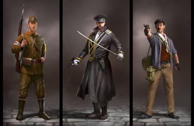 Assassin's Creed TLMC: Characters by KangJason